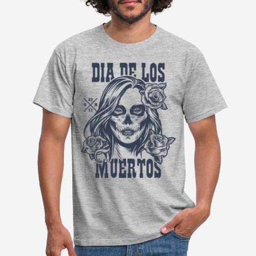 dia muertos day dead - Männer T-Shirt