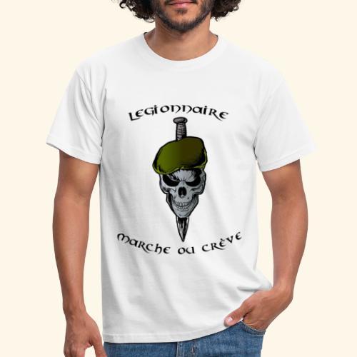 beret vert - T-shirt Homme