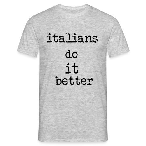 Italy - Maglietta da uomo