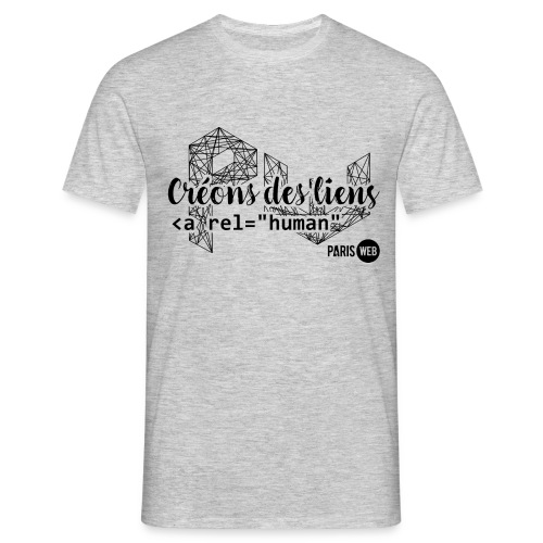 CreonsDesLiens-Build-cp - T-shirt Homme