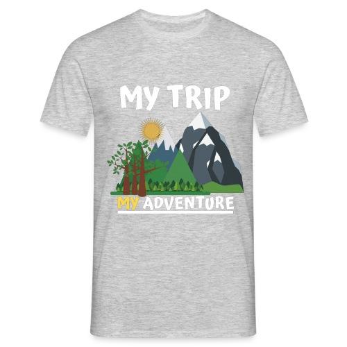 Adventure Tame . My Adventure - Men's T-Shirt