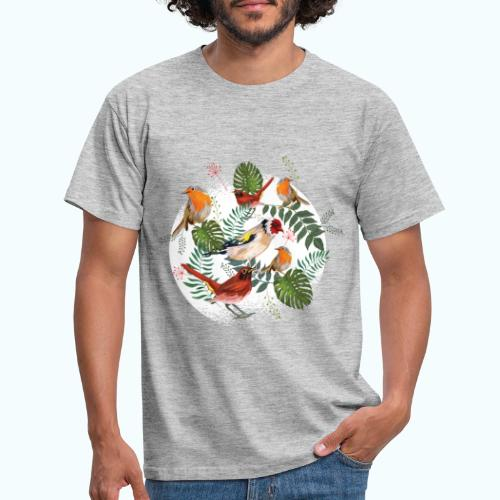 Vögel im Wald - Men's T-Shirt