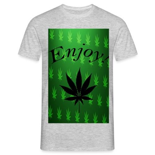 enjoy png - Männer T-Shirt