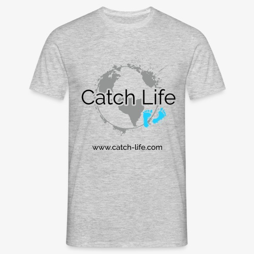 Catch Life Logo - Men's T-Shirt