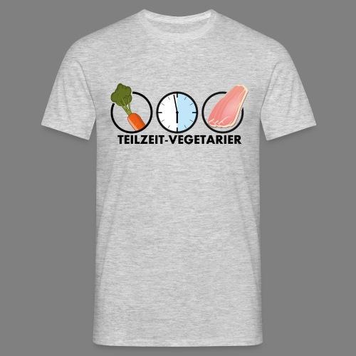 Teilzeit-Vegetarier - Männer T-Shirt
