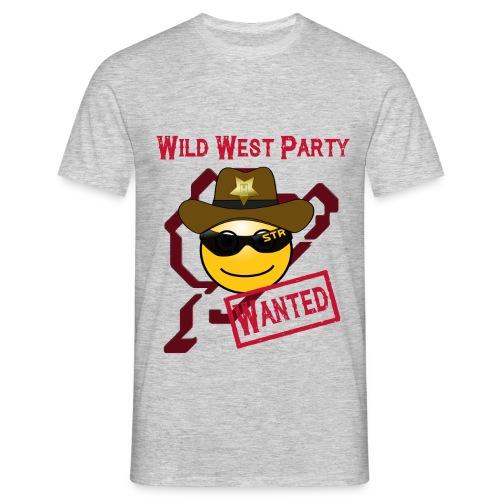 Motto HATZE 16 txt png - Männer T-Shirt