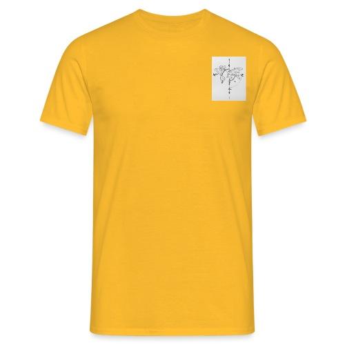 Wanderlust - Mannen T-shirt