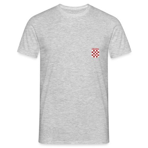 CROATIA SAHOVNICA - Men's T-Shirt