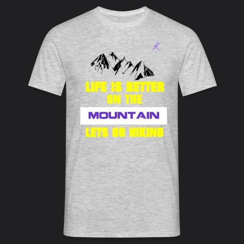 SignaturePurple png - Men's T-Shirt