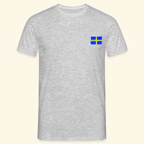 Swedish flag in Watercolours - T-shirt herr
