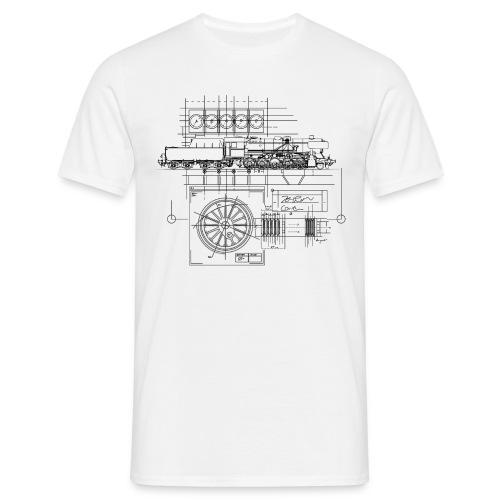 RN Blueprint - Männer T-Shirt