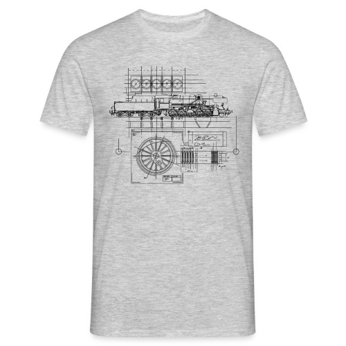 RN Blueprint - Men's T-Shirt