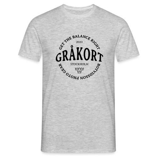 GRÅKORT - Men's T-Shirt