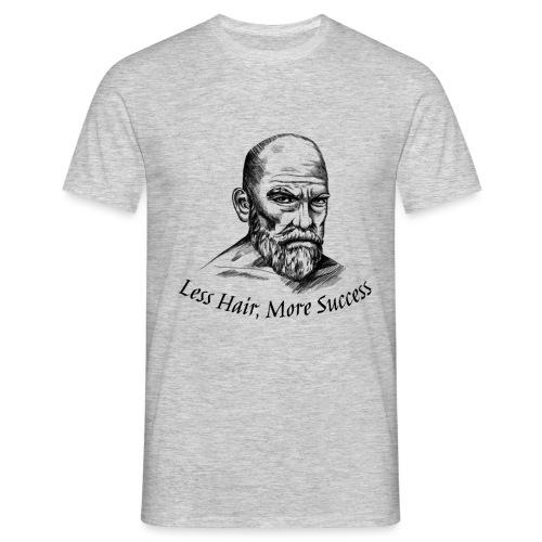 Less Hair, More Success - T-shirt Homme