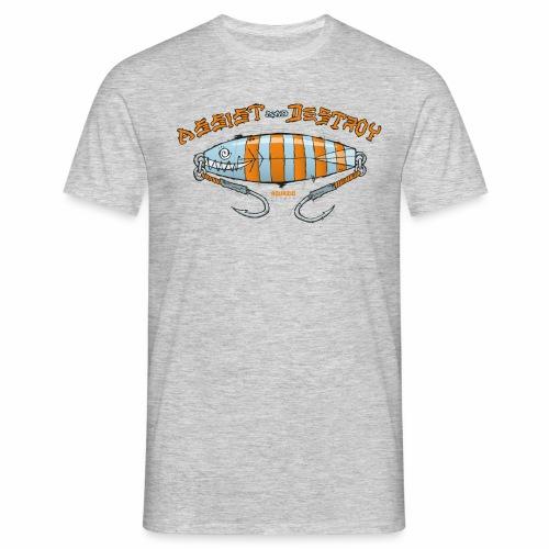 Assist & Destroy - Metal Jig - Men's T-Shirt