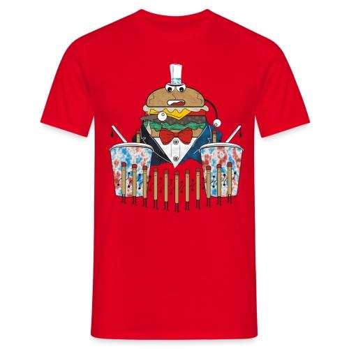 Hamburger army - Miesten t-paita