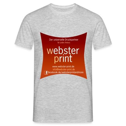logo neu aussen universeller anlass tran - Männer T-Shirt