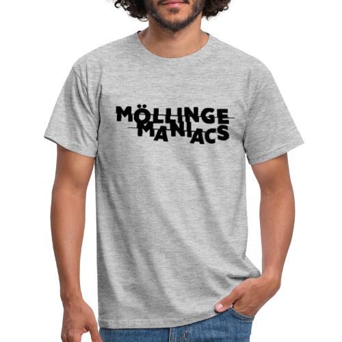 Möllinge Maniacs svart logga - T-shirt herr
