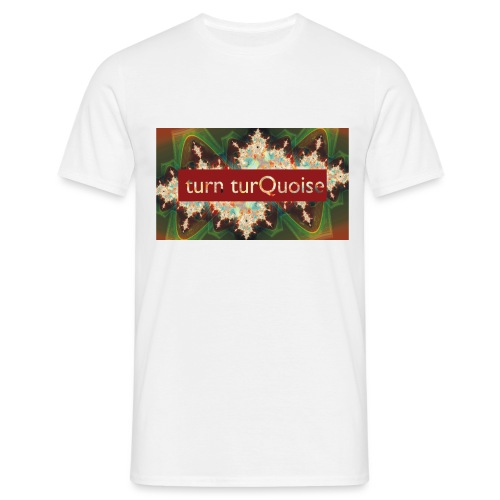 turn turQuoise Logo 2 - Männer T-Shirt