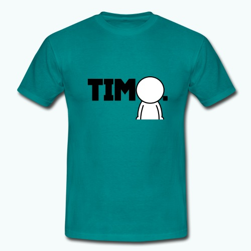 Design met ventje - Mannen T-shirt