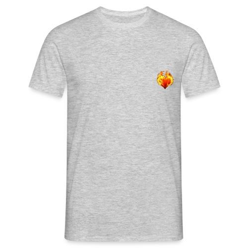 HeartFire - Mannen T-shirt