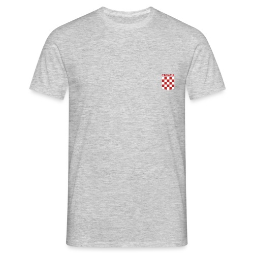 CROATIA SAHOVNICA - Men's T-Shirt