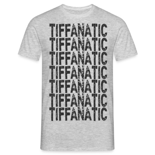 tiffanaticdinkresizeblack - Men's T-Shirt
