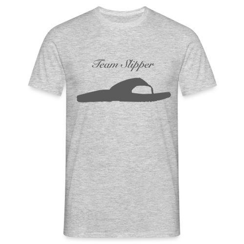 Team Slipper - Mannen T-shirt
