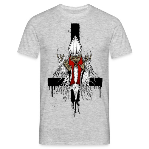 demon pope png - Men's T-Shirt
