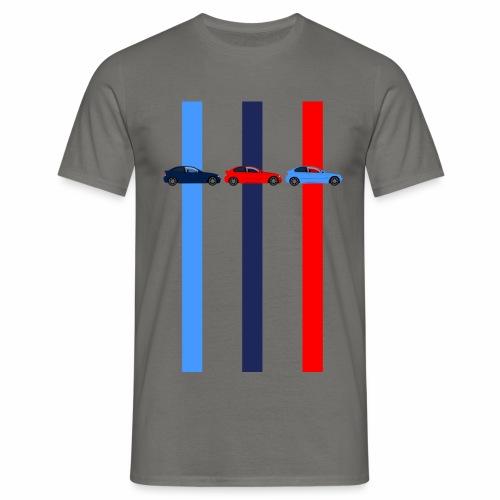 Tricolor E46 Compacts - Männer T-Shirt