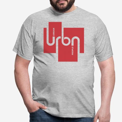 Stadtmenschen Stadt - Männer T-Shirt