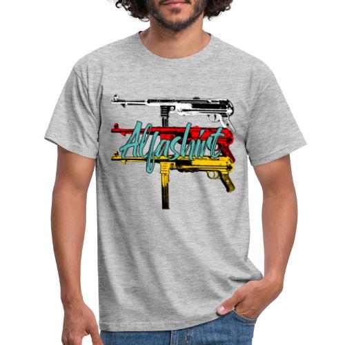 Alfashirt Mp40 - Männer T-Shirt