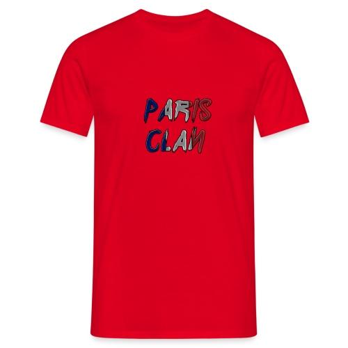 Parisclan Lettering - Men's T-Shirt