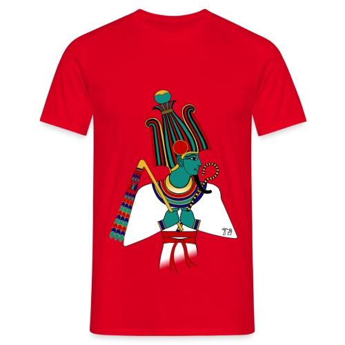 ÄGYPTEN - Osiris - altägyptische Gottheit - Männer T-Shirt