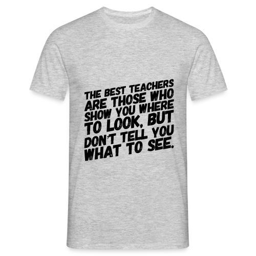 The best teachers - T-shirt herr