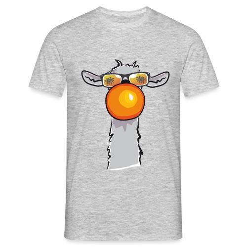 Chewing Llama - Männer T-Shirt