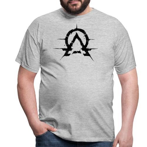 OA emblem black - T-skjorte for menn