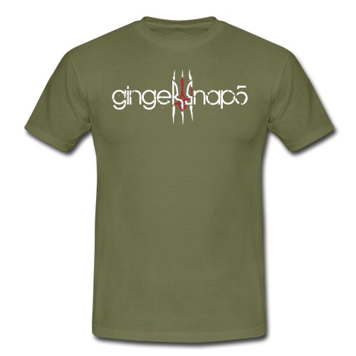 GS5 logo name herb - Men's T-Shirt