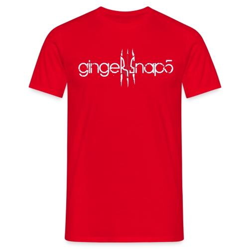 GS5 logo name herb - Men's T-Shirt