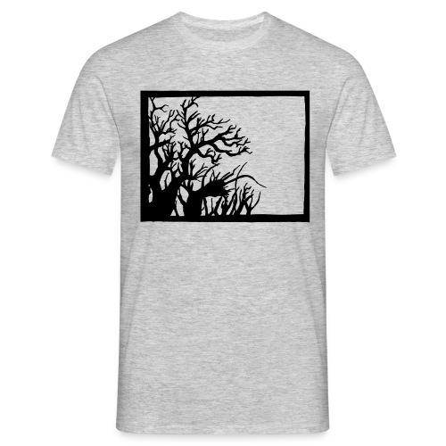 Winterknick - Männer T-Shirt