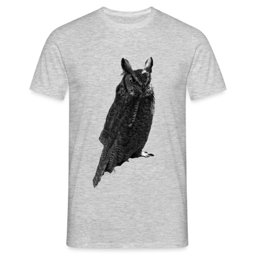 Sitting Owl - Men's T-Shirt