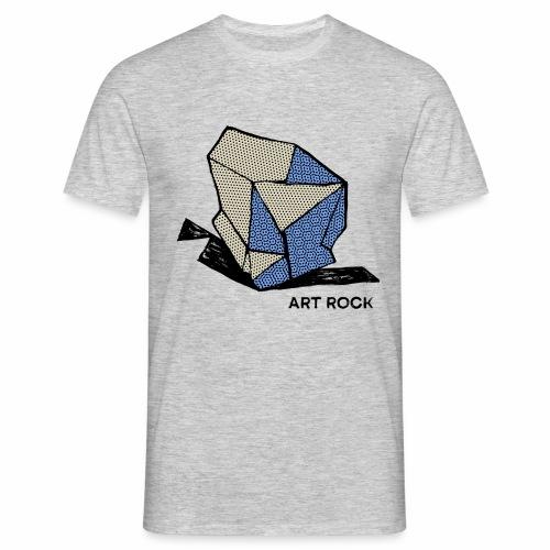 ART ROCK No 1 colour - Mannen T-shirt