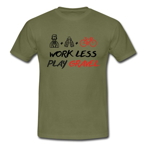 Black-Mood - Maglietta da uomo