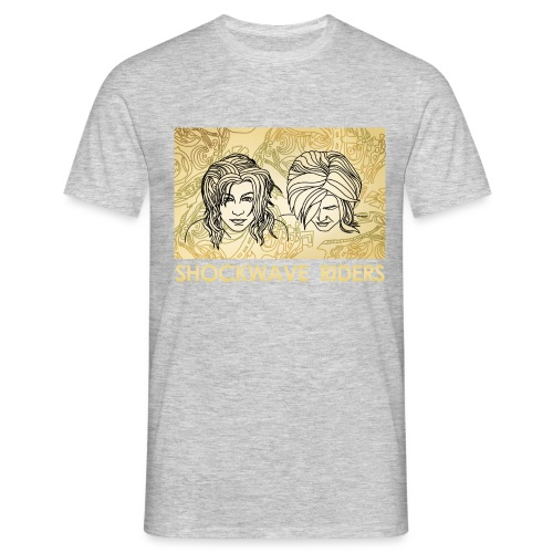 Shockwave Riders Faces - Männer T-Shirt