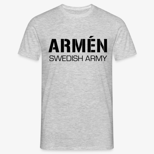 ARMÉN -Swedish Army - T-shirt herr