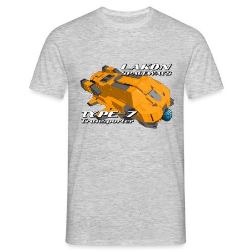Lakon type-7 Yellow - Men's T-Shirt