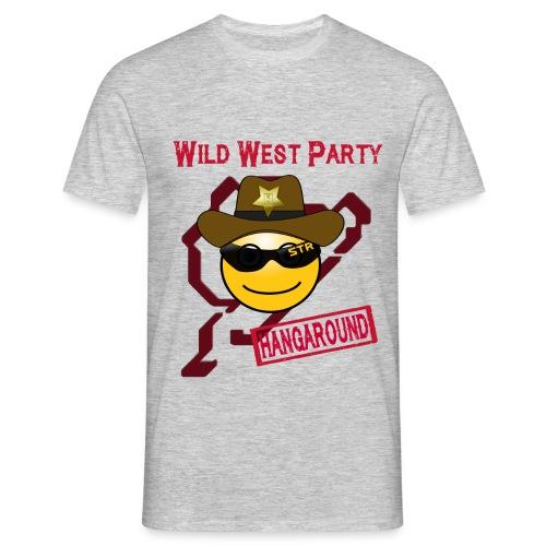 Motto HATZE 16 hangaround png - Männer T-Shirt