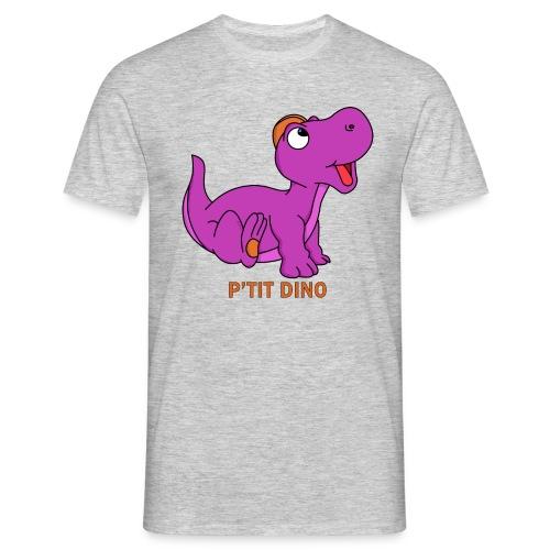 P'tit Dino Violet - T-shirt Homme