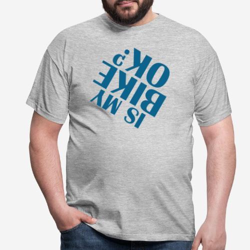 Fahrradunfall fallen - Männer T-Shirt