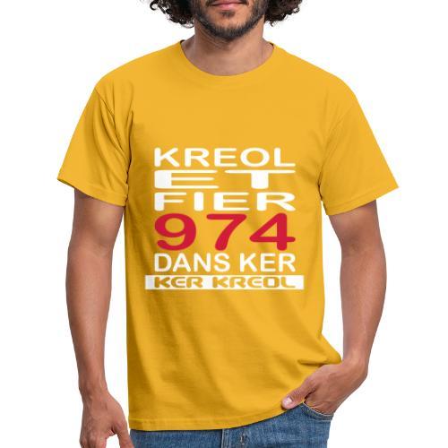 Kreol et Fier - 974 ker kreol - T-shirt Homme